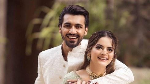 Minal Khan and Ahsan Mohsin Ikram announce their wedding date