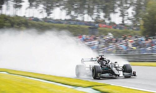 Verstappen grabs pole for Belgian GP