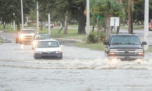 Dangerous hurricane makes landfall in Louisiana
