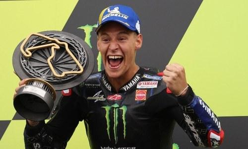 Quartararo extends championship lead with British MotoGP win