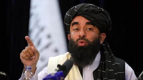 US exit will stop IS attacks in Afghanistan, Taliban spokesperson says