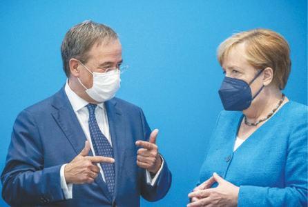 Angela Merkel's would-be heir seeks rebound after election debate