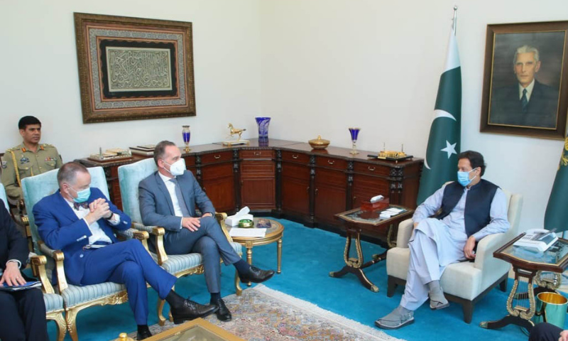 Urgent steps needed to stabilise security situation in Afghanistan, PM Imran tells German FM