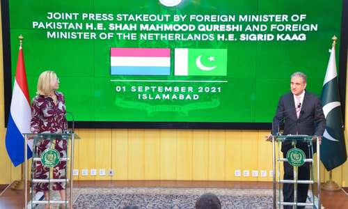 FM Qureshi cautions world against abandoning Afghanistan