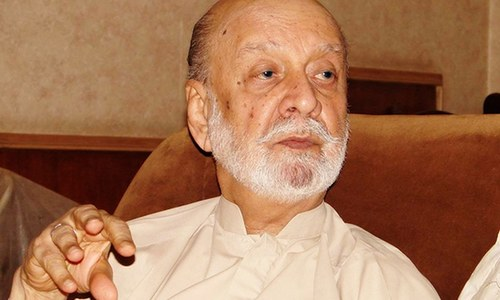 BNP founder and first Balochistan CM Sardar Ataullah Mengal passes away in Karachi