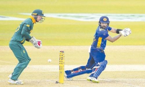 Fernando ton powers Sri Lanka to 300-9 in first ODI