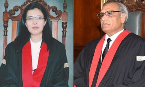 LHC CJ accords consent to Justice Ayesha's appointment in SC