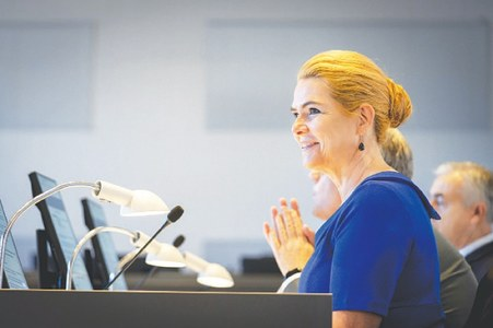 Former Danish minister on trial for separating migrant couples