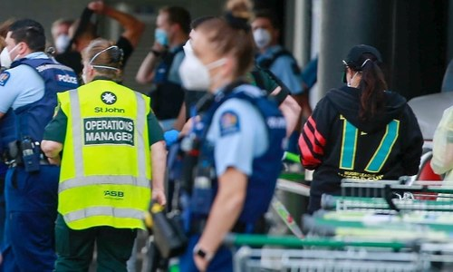 New Zealand police kill 'violent terrorist' after he stabs 6 people at supermarket