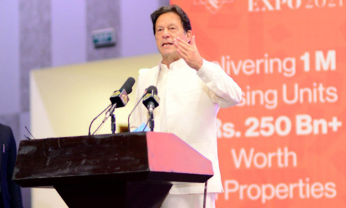 PM Imran launches Property, Housing and Construction Expo 2021