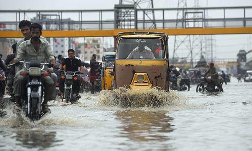 One dies from electrocution as heavy rain lashes Karachi