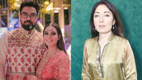 A father changing his son's clothes is nothing special, Sharmila Faruqi tells Iqra Aziz