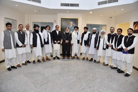 Afghan Taliban, Pakistani envoy meet in Doha to discuss 'bilateral relations, border movement'