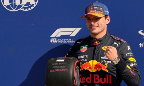 Verstappen takes pole for home Dutch GP