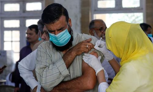 Sindh wants to link bank service with vaccination
