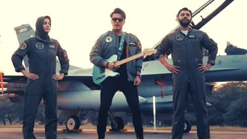 Ali Zafar's new single 'Mein Ura' pays tribute to 'warriors in the air' on Defence Day