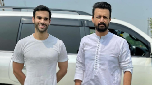 Atif Aslam, actor Ameer Gilani pair up for ISPR project honouring soldiers at the border