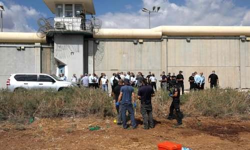 6 Palestinians escape high-security Israeli prison through a tunnel