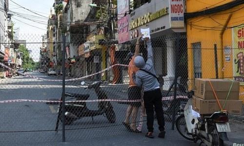 ویتنام میں کووڈ پھیلانے پر ایک شخص کو 5 سال قید کی سزا