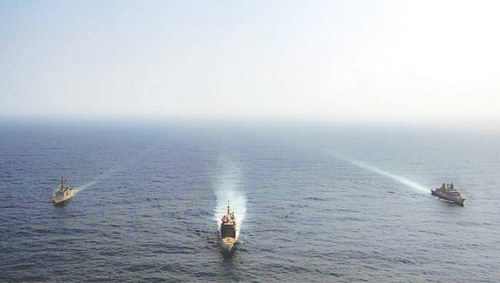 Navies of Pakistan, Germany, US hold exercise in Arabian Sea