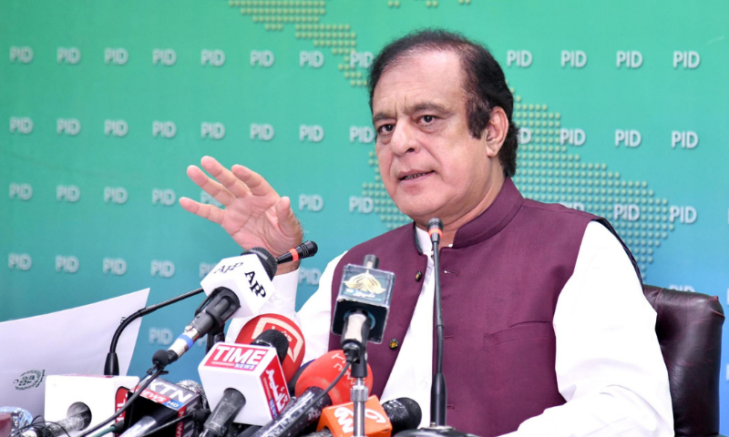 Ministry's report addresses all problems of EVM pointed out by ECP: Shibli Faraz