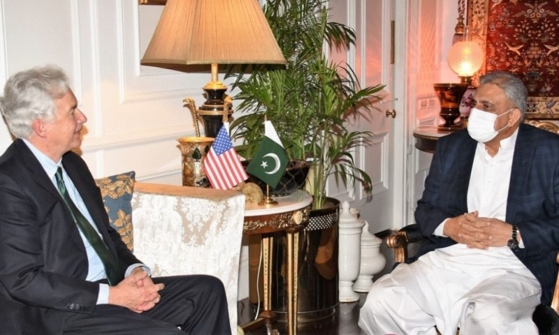 COAS, CIA chief discuss regional security, situation in Afghanistan