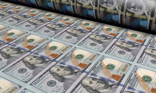 Dollar hits 13-month high at Rs168.02