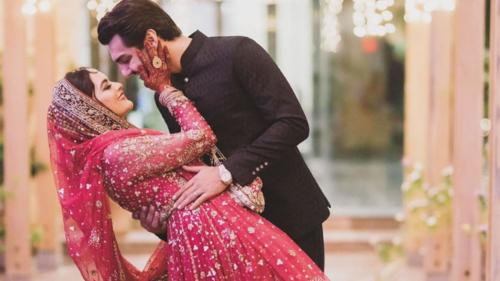 Inside Minal Khan and Ahsan Mohsin Ikram's highly anticipated wedding ceremony