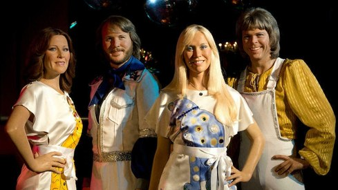 ABBA scores first top 10 single in 40 years