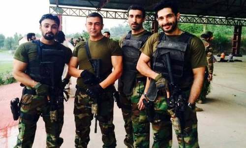 Ex-Indian army officer shares picture from movie set as 'truth' about Pakistan Army's presence in Panjshir