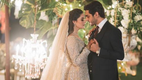 Minal Khan and Mohsin Ahsan Ikram end wedding festivities with a grand reception