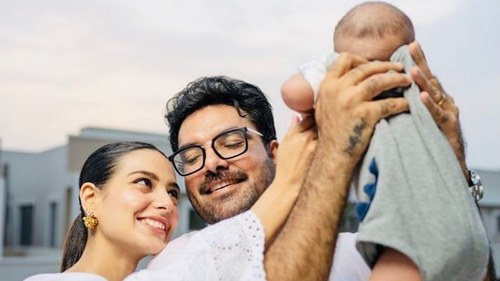 Actor Yasir Hussain reveals why he avoids sharing pictures of his son's face on social media