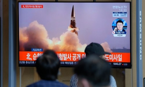 South Korea tests sub-launched  ballistic missile after North fires two into sea