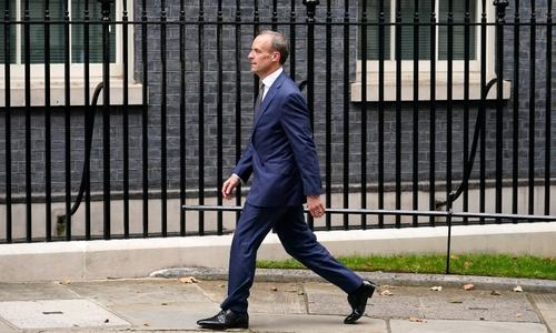 Johnson demotes foreign secretary in cabinet revamp