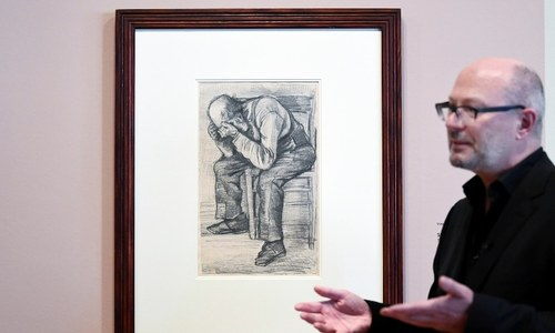 Van Gogh drawing of old man discovered after a century