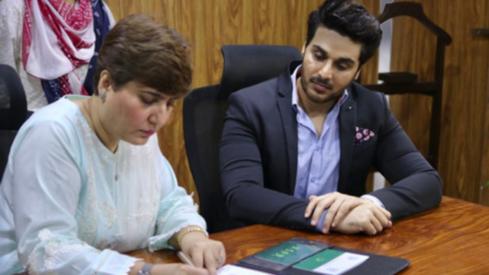 Actor Ahsan Khan appointed NCRC Pakistan goodwill ambassador