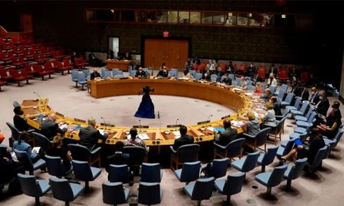 اقوام متحدہ کی سیکیورٹی کونسل کا افغانستان مشن کی توسیع کے حق میں ووٹ