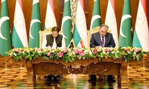 Pakistan, Tajikistan sign agreements on trade, investment
