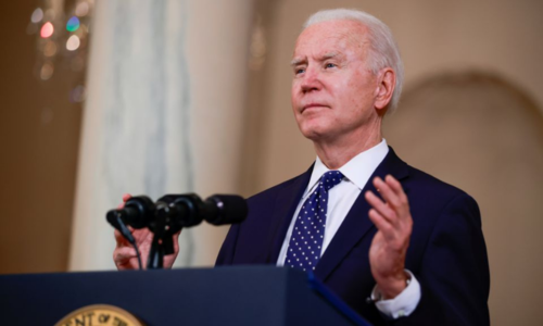 Biden asks for early talks with Macron amid submarine row