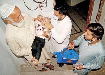 Over 200,000 children to be given polio drops in Attock