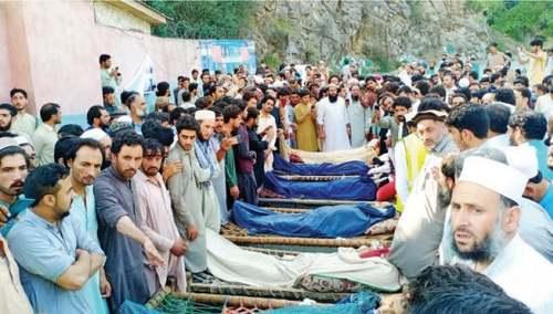 Nine killed as rivals open fire during Upper Dir jirga