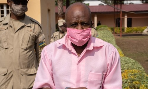 Hotel Rwanda hero sentenced to 25 years on terror charges