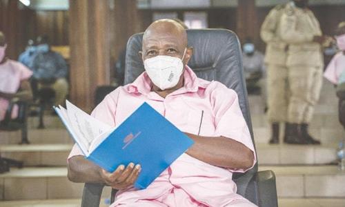 ہوٹل روانڈا کے ہیرو کو دہشت گردی کے الزام میں 25 سال قید کی سزا