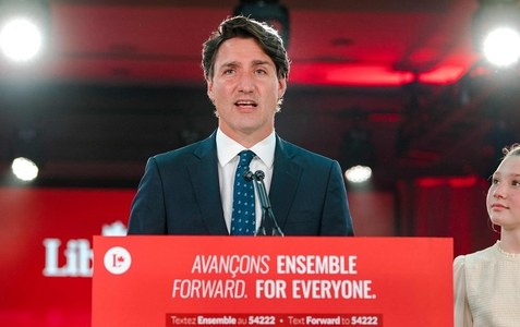 Justin Trudeau re-elected Canadian PM but fails to get majority