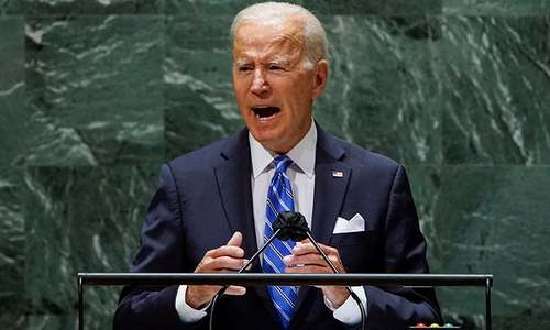 Palestinian state 'best way' to resolve conflict with Israel, Biden says at UN