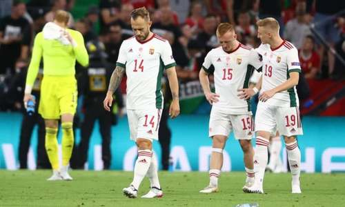 Hungary gets one-match fan ban, fined for racism