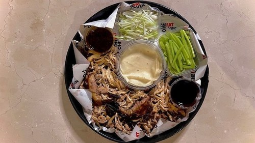 Craving Peking Duck in Karachi? Try a platter of Peking Chicken instead