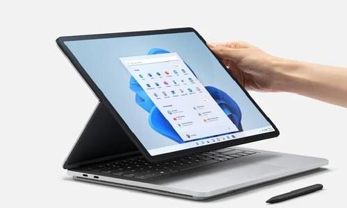 مائیکرو سافٹ کا ایک نیا لیپ ٹاپ اور 3 ٹیبلیٹس متعارف