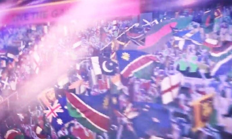 آئی سی سی نے 'ٹی ٹوئنٹی ورلڈ کپ' کا ترانہ جاری کردیا