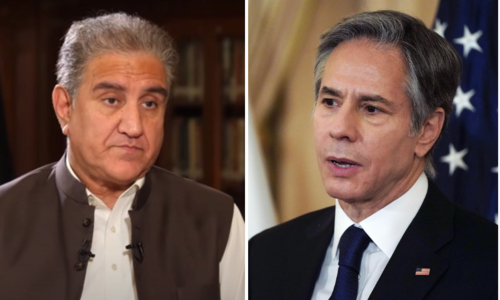 Qureshi, Blinken hold first meeting with Afghanistan in focus